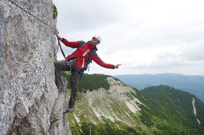 Klettersteig Niederösterreich : Klettersteigwoche