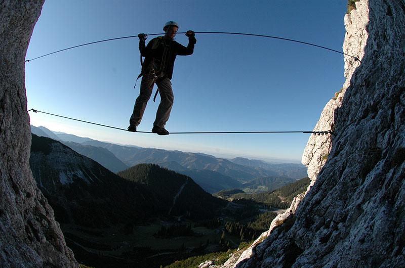 Klettersteig Niederösterreich : Höhlenabenteuer und klettersteig am hochkar sportkombination