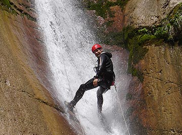 Canyoning bei Freelife Outdoorsport